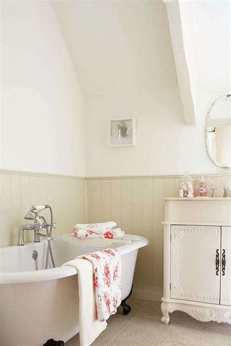 bathrooms with beadboard cottage y bathroom soft neutral beadboard with white Cottage