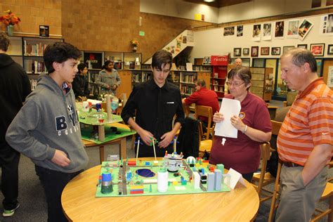 junior high students tackle issues with mini