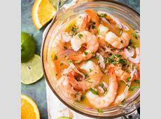 Secret Ingredient Shrimp Cocktail Ceviche de Camaron