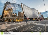Katowice in Poland editorial stock image. Image of city ...