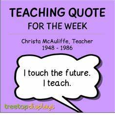 Quotes by Christa Mcauliffe @ Like Success