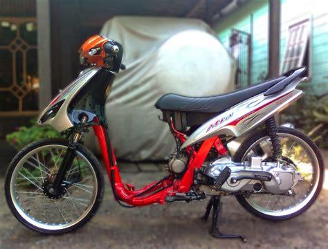 Modipikasi Motor by Gambar Foto Modifikasi Motor Yamaha Mio Lengkap