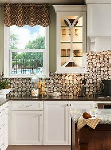 peel and stick tile backsplash review of pros and cons With kitchen colors with white cabinets with stick peel off wall art