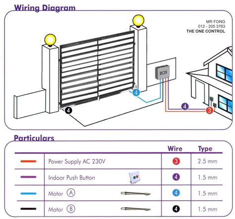 wiring diagram for auto gate the one auto gate