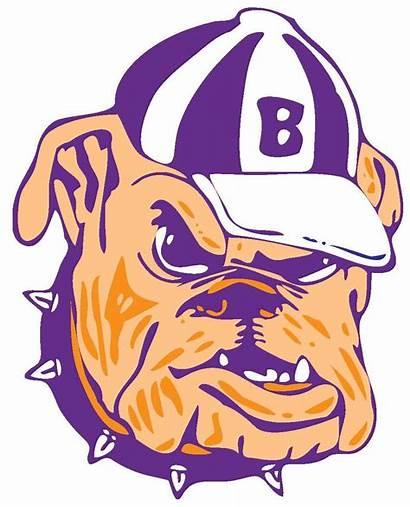 Bulldog Clipart Baseball Basketball Purple Panda Logos