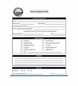 40  Effective Time Off Request Forms  U0026 Templates  U1405