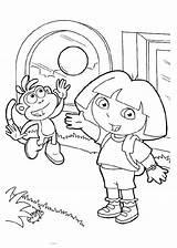 Dora Coloring Things Learn Explorer Stumble Tweet sketch template