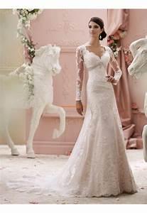 robes de mariee en dentelle manche longue traine courte With robe de mariée classique