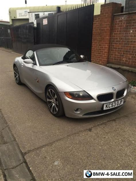 2003 Bmw Z4 For Sale by 2003 Sports Convertible Z4 For Sale In United Kingdom