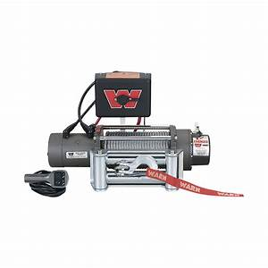 Warn 12 Volt Dc Powered Electric Vehicle Recovery Winch