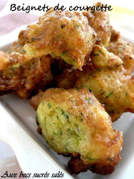 beignets de courgette recette ptitchef