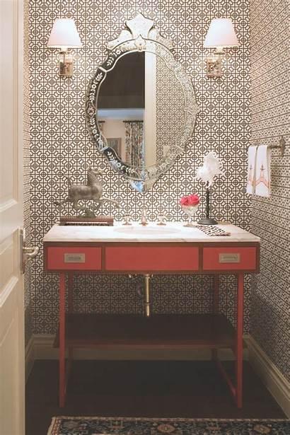 Eclectic Bathroom Brown Hgtv Schumacher Andrea