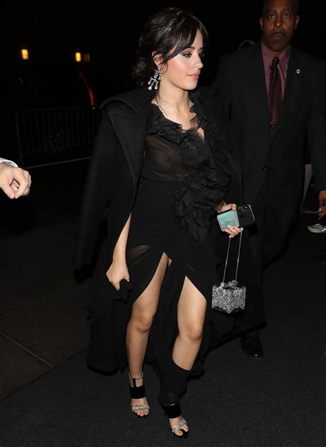 Camila Cabello Arriving The Clive Davis Annual Pre
