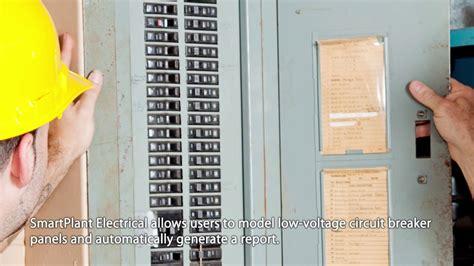 Smartplant Electrical Circuit Breaker Panel Schedule