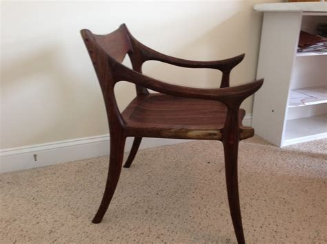 maloof inspired low back chair the wood whisperer