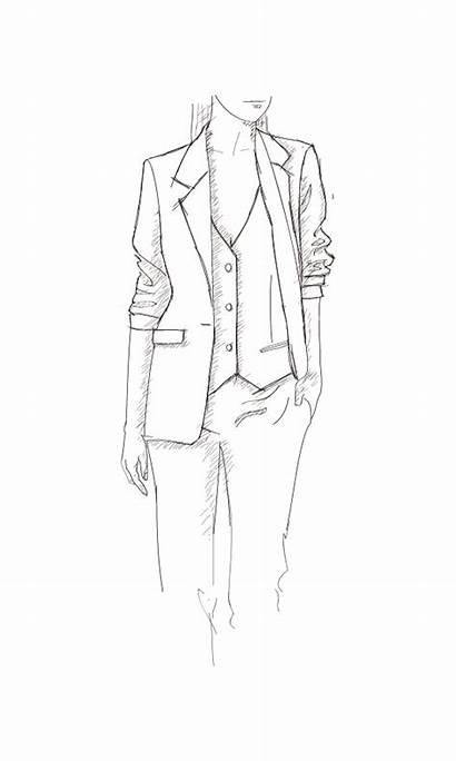 Business Suit Tailor Drawing Suits Pants Drawings