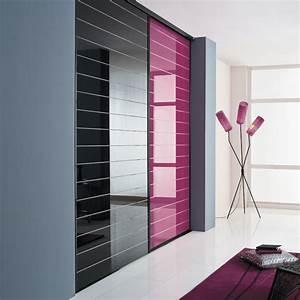 kazed portes de placard coulissantes traditionnel verres With porte d entrée alu avec robinet noir mat salle de bain