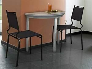 Table Cuisine Petit Espace : table murale pour une cuisine plus sympa ~ Teatrodelosmanantiales.com Idées de Décoration