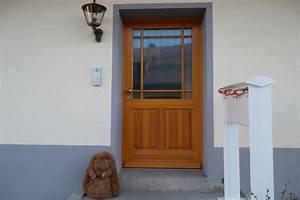 Haustür Mit Einbau : einbau einer haust r mit verglasung in einem neubau windfang garage doors outdoor decor und ~ Eleganceandgraceweddings.com Haus und Dekorationen