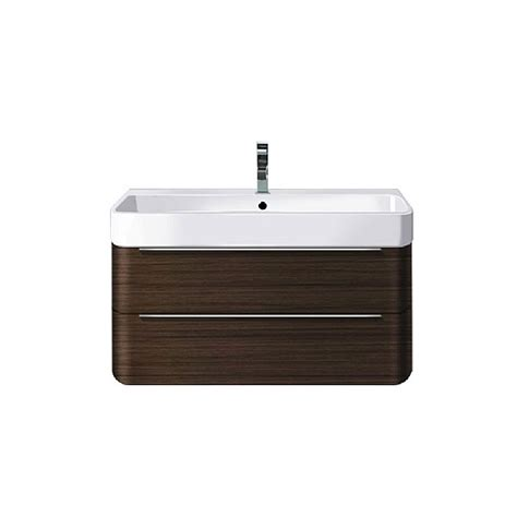 duravit happy   drawer vanity unit mm bathroom