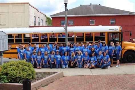 piedmont elementary school highlights school celebration bus