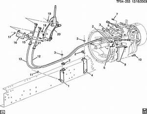 Chevrolet T7500 Cable  Transmission Shift Control  Cable