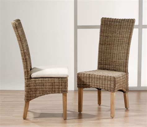 High Back Wicker Dining Chairs  Dining Room Ideas