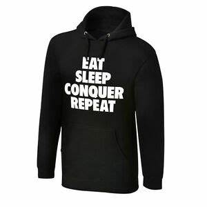 WWE AUTHENTIC Brock Lesnar Eat Sleep Conquer Repeat ...