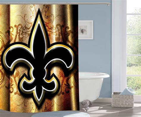 orleans saints nfl football  shower curtain