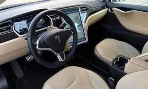 Tesla Model S Photos: Tesla Model S interior