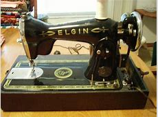 Old Elgin Sewing Machine Page 2