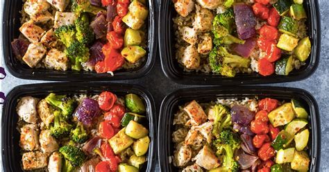21 Meal-prep Ideas That Won't Get