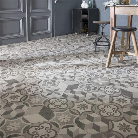 carrelage sol  mur gris blanc effet beton time