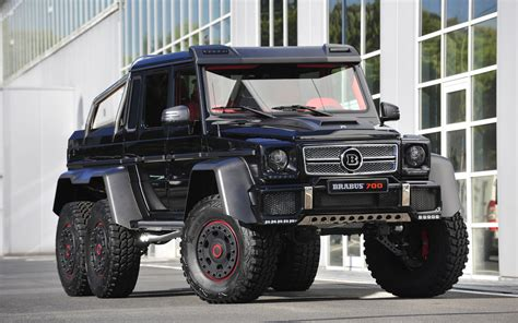 2013 Brabus B63s 700 6x6 News And Information