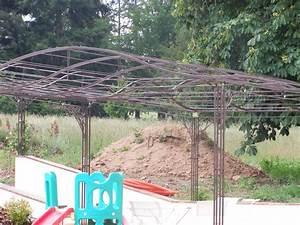 Arche De Jardin En Fer Forgé : ferronnerie d 39 art rocle pergola gloriette marquise ~ Premium-room.com Idées de Décoration