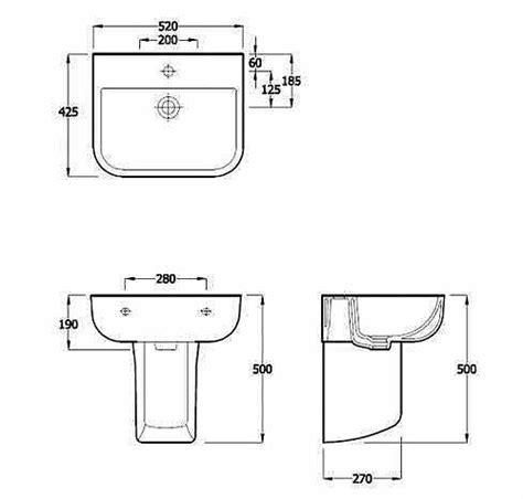 30 Bathroom Sink Dimensions Standard, Bathroom Sink