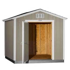 tuff shed installed tahoe 8 ft x 10 ft x 8 ft 6 in painted wood storage building shed with