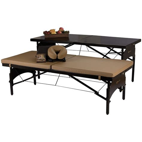 massage table accessories canada earthlite convertible massage table 173393 massage