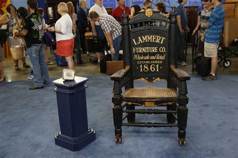 advertising chair printing ca 1885 antiques