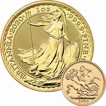 Coin Gold Britannia Sovereign 1oz Coins Mini