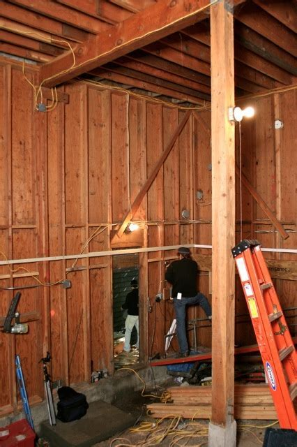 Replacing a Wooden Girder with a Steel I Beam   Fine