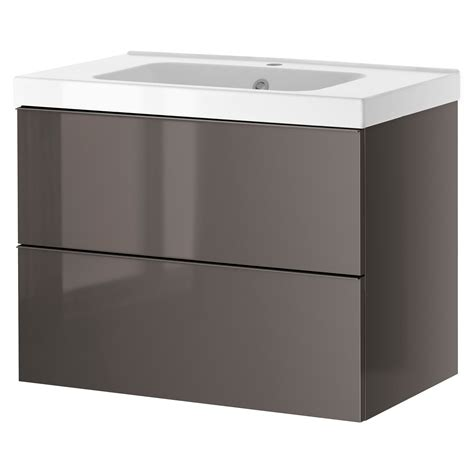 Bathroom Sink And Cabinet Ikea by Godmorgon Odensvik Sink Cabinet With 2 Drawers White