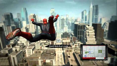 amazing spider man gameplay xbox  youtube