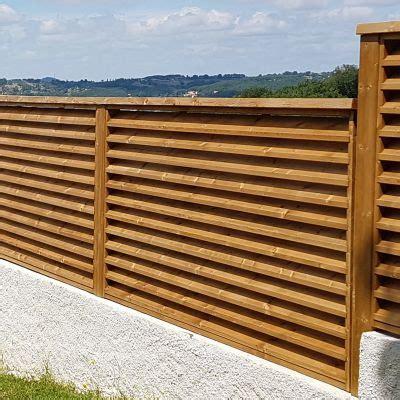escaffre production bois catalogue produits produits am 233 nagement d ext 233 rieur palissade