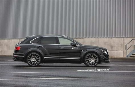 Gambar Mobil Bentley Bentayga by Prior Design Bentley Bentayga Is A Wider Millionaire Mall