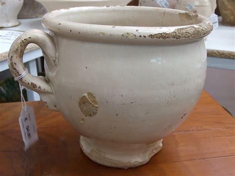 di notte in vaso antico vaso da notte in ceramica smaltata e terracotta