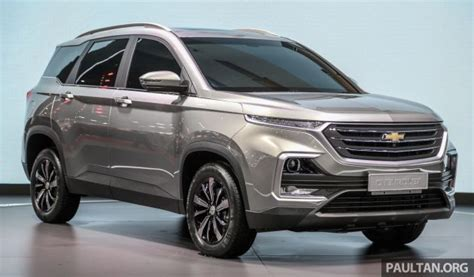 Wuling Almaz Picture by Bangkok 2019 New Chevrolet Captiva Is A Rebadged Baojun