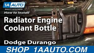 How To Install Replace Radiator Engine Coolant Bottle
