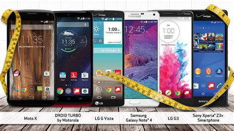 cell phones with large screens 6 of the best large screen smartphones at verizon