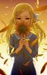 日暮,少女,向日葵。 - armebaha21的創作 - 巴哈姆特